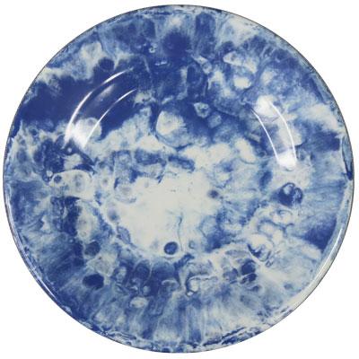 """צלחת 15.3 ס""""מ קלאודי כחול מלמין"""