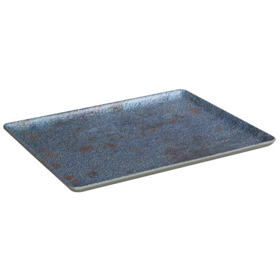 מגש 1/2 גובה 1.8 דגם כחול חלודה